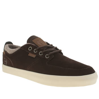 Etnies Dark Brown Hitch Trainers