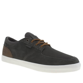 Mens Etnies Dark Grey Hitch Trainers