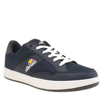 Ellesse Navy Pavia Mens Trainers