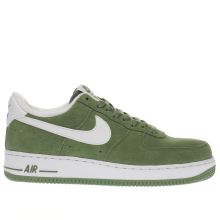Nike Green Air Force 1 07 Mens Trainers