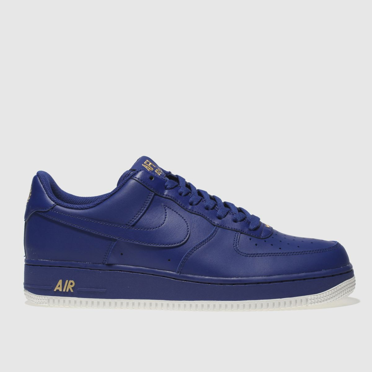 Nike Blue Air Force 1 07 Trainers