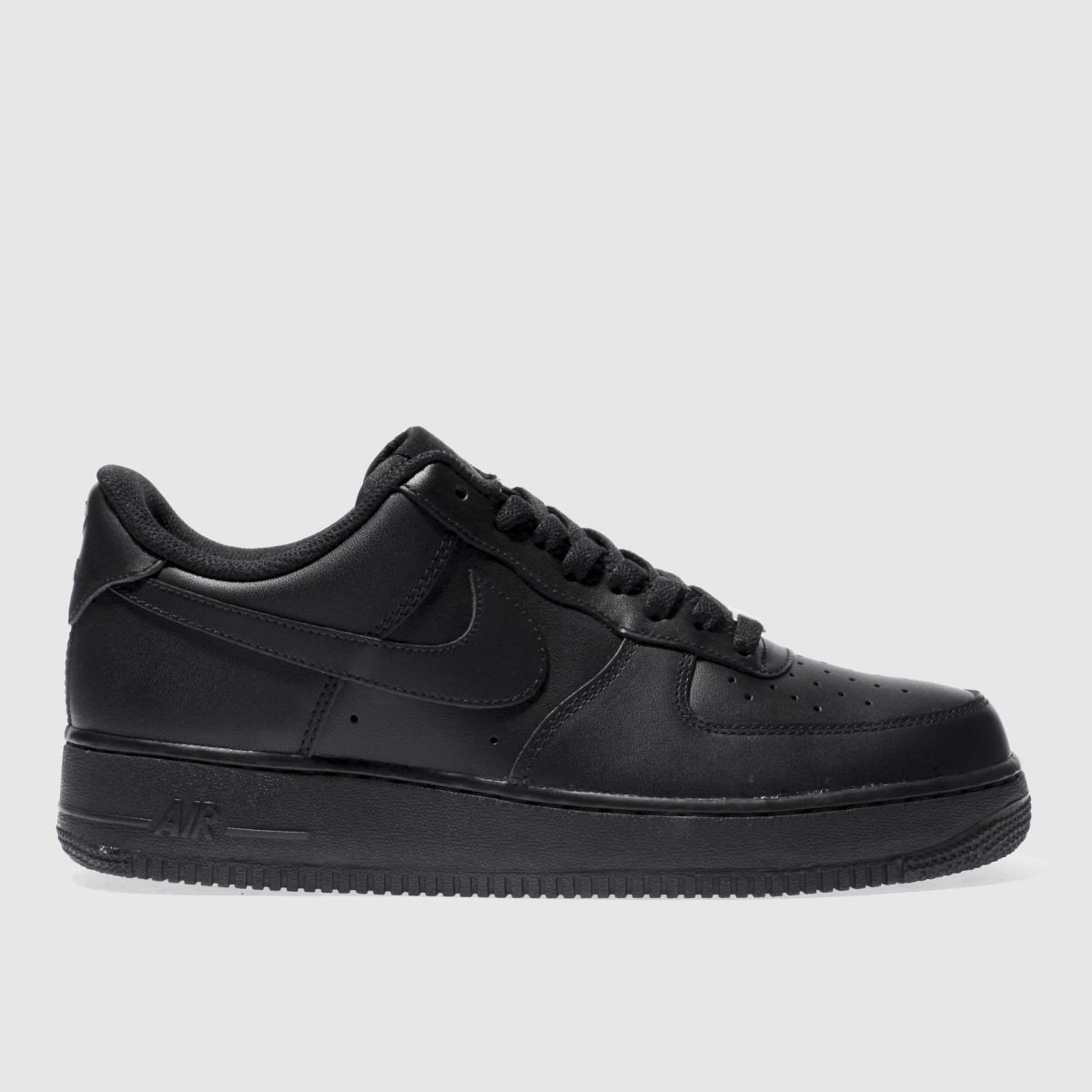 Nike Black Air Force 1 07 Trainers