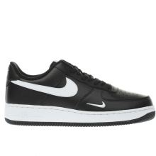 Nike Black & White Air Force 1 Mens Trainers