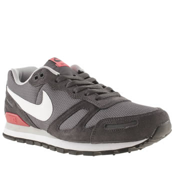 Mens Nike Grey Air Waffle Trainers