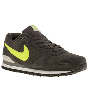 Mens Nike Dark Grey Air Waffle Trainers