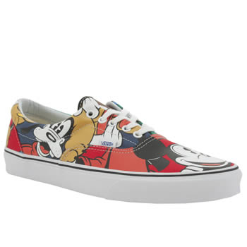 Mens Vans Multi Disney Mickey Era Trainers