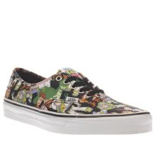Vans Multi Authentic Toy Story Mens Trainers