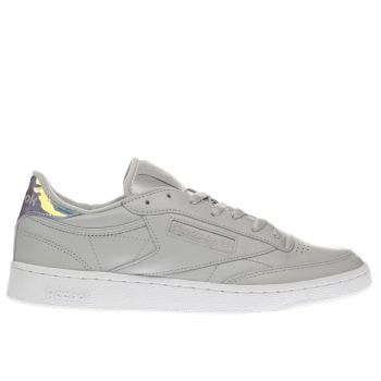 Reebok Light Grey Club C 85 Trainers