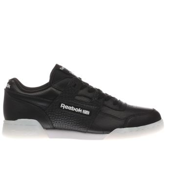 Reebok Black Workout Plus 1d Trainers