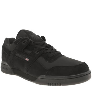 Reebok Black Workout Plus Trainers