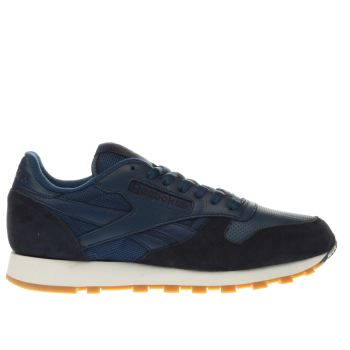 Reebok Blue Classic Leather Perfect Split Trainers