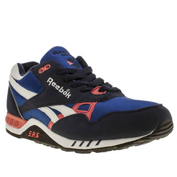 Reebok Navy & Red Ers 2000 Trainers