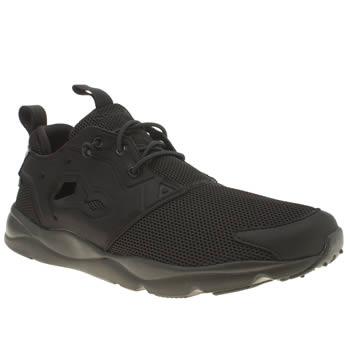 Reebok Black Furylite Mens Trainers