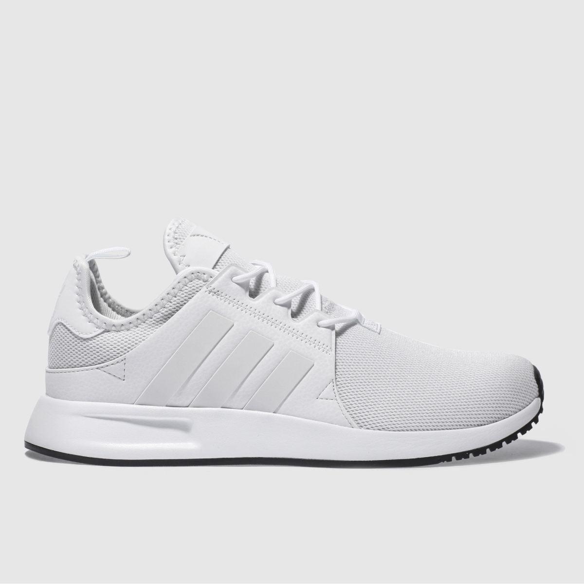 adidas white x_plr trainers