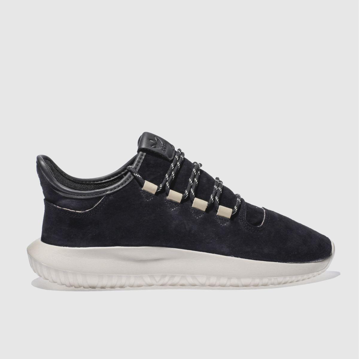 adidas black tubular shadow trainers