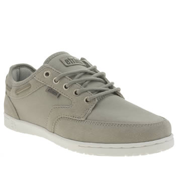 Etnies Light Grey Dory Trainers