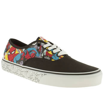 Mens Vans Multi X Marvel Authentic Spider-man Trainers