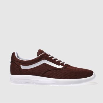Vans Burgundy Iso 1-5 Mens Trainers