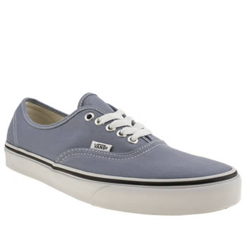 Mens Vans Pale Blue Authentic Trainers