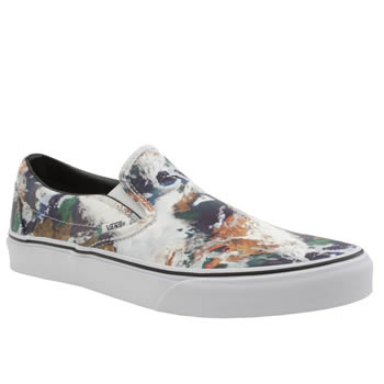 Mens Vans Multi Earth Slip-on Trainers