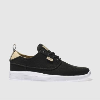 Vans Black Brigata Lite Mens Trainers
