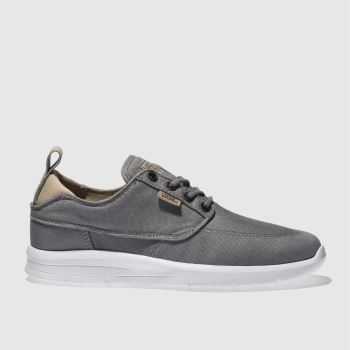 Vans Grey Brigata Lite Mens Trainers