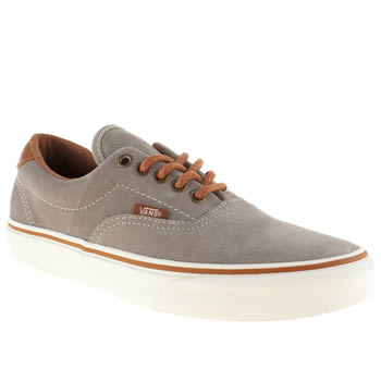 Mens Vans Grey Era 59 Trainers