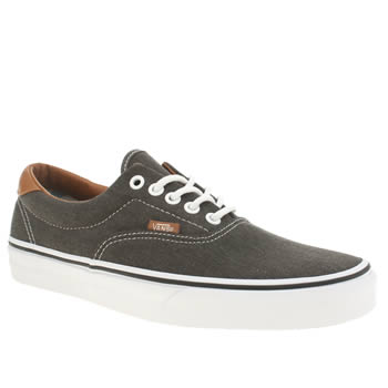 Mens Vans Dark Grey Era 59 Trainers