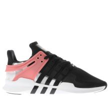 Adidas Black & White Eqt Support Adv Mens Trainers