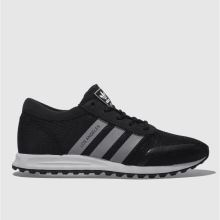 Adidas Black & White Adi Los Angeles Mens Trainers