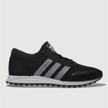 Adidas Black Adi Los Angeles Mens Trainers