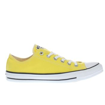 Converse Yellow All Star Ox Trainers