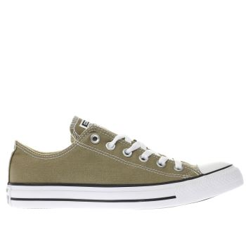 Converse Khaki All Star Ox Trainers