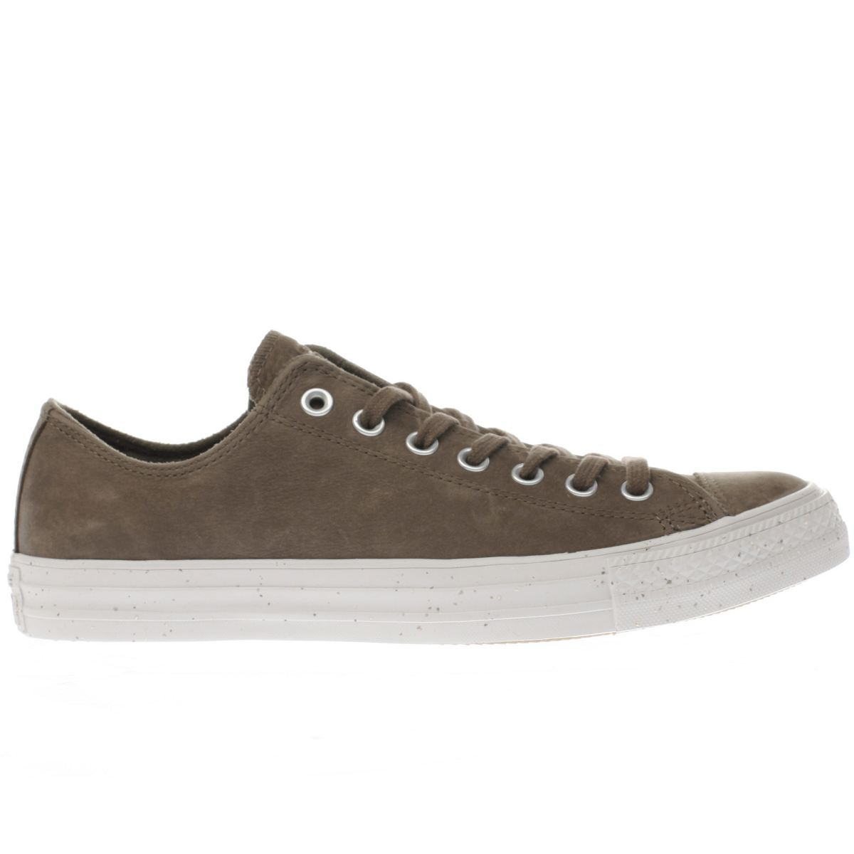 converse taupe chuck taylor all star ox trainers
