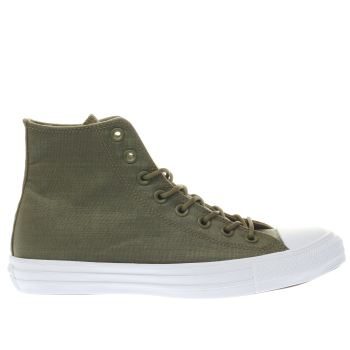 Converse Khaki Chuck Taylor All Star Hi Mens Trainers