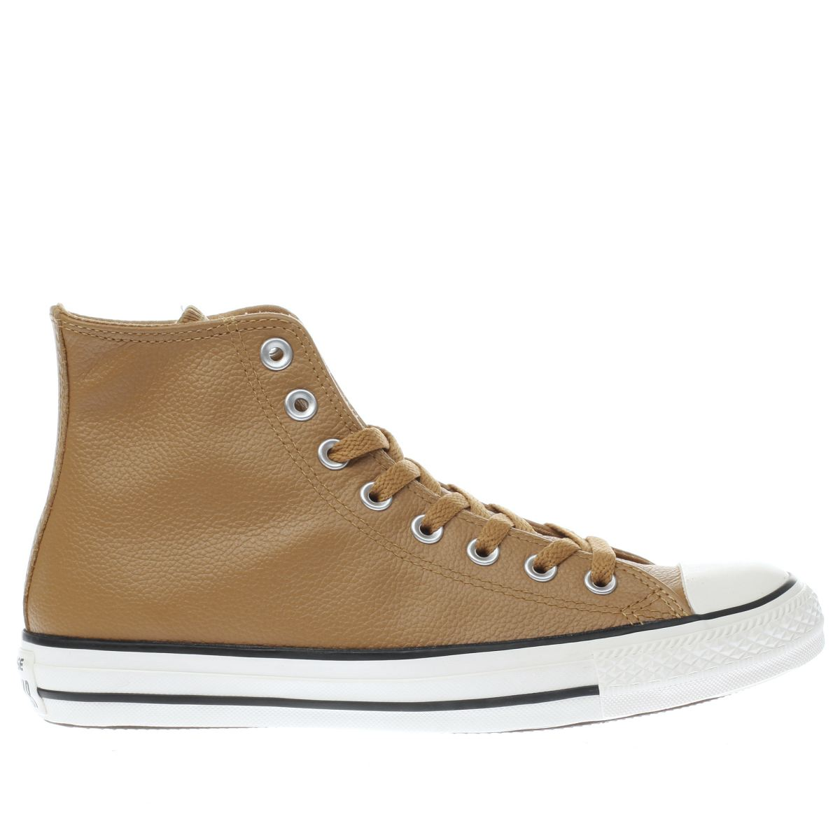 converse tan chuck taylor all star hi trainers