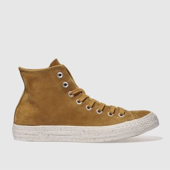 Converse Tan Chuck Taylor All Star Hi Mens Trainers