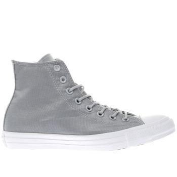 Converse Grey Chuck Taylor All Star Hi Mens Trainers