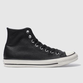 Converse Black CHUCK TAYLOR ALL STAR HI Trainers