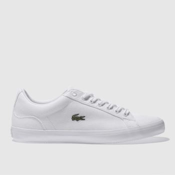 Lacoste White Lerond Mens Trainers