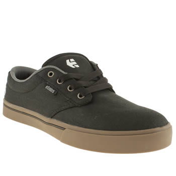 Mens Etnies Black Jameson 2 Eco Trainers