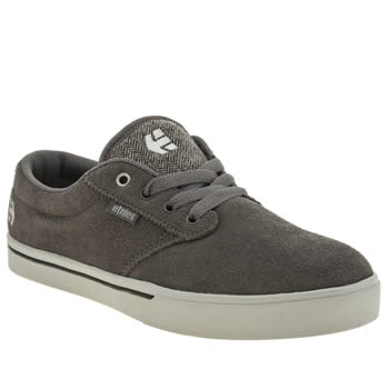 Mens Etnies Grey Jameson 2 Trainers