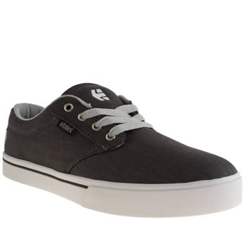 Mens Etnies Grey Jameson 2 Eco Trainers