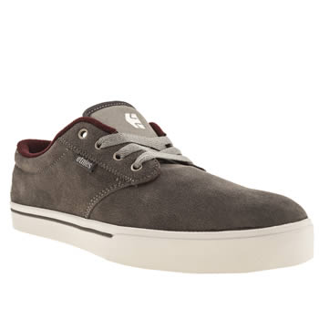 mens etnies dark grey jameson 2 trainers