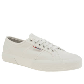 Superga White 2750 Trainers