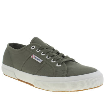 Superga Dark Green 2750 Trainers