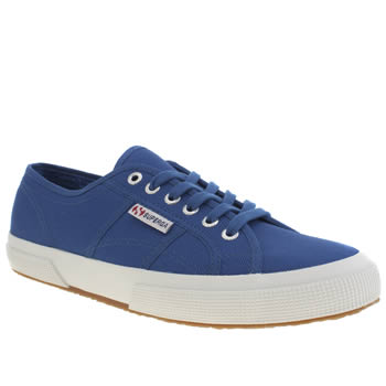 Superga Blue 2750 Trainers
