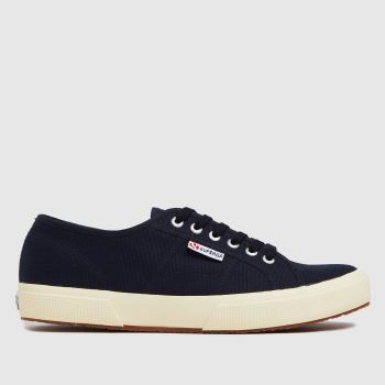 Superga Navy 2750 Trainers