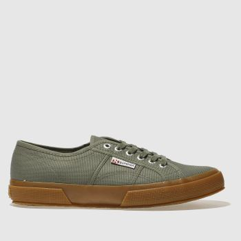 Superga Khaki 2750 Mens Trainers