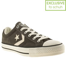 Grey Converse Star Player Ox